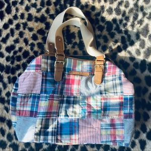 Tommy Hilfiger plaid purse